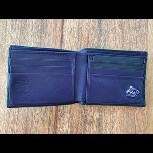 Jan Leslie Men's Wallet - Purple crocodile